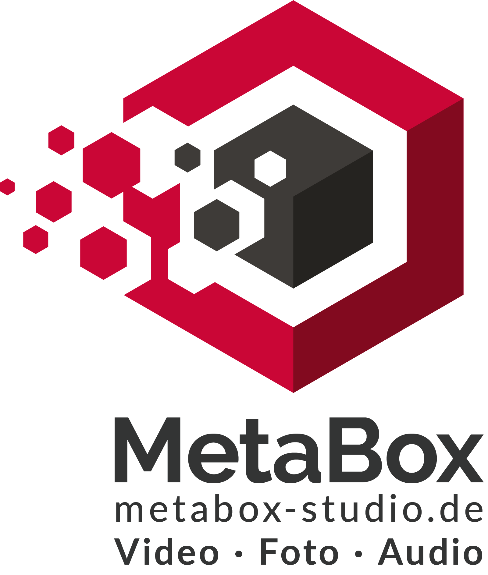 Logo mit Claim metabox-studio.de